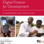 New USAID Handbook: Digital Finance for Development
