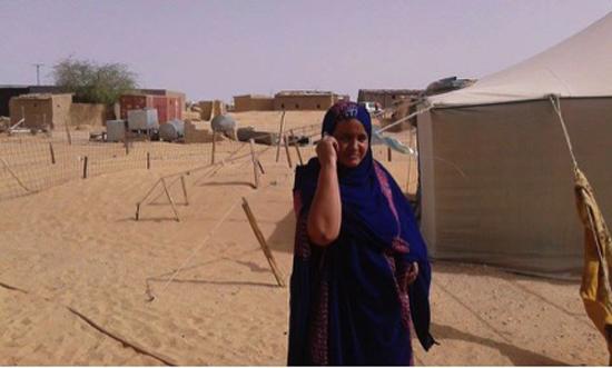 Refugee Woman