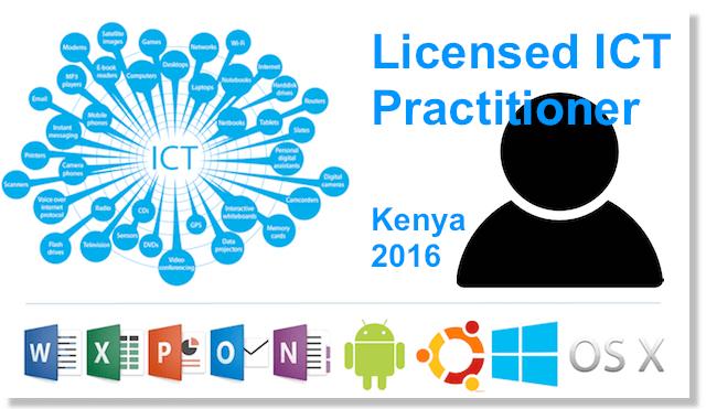 ict practitioner license kenya