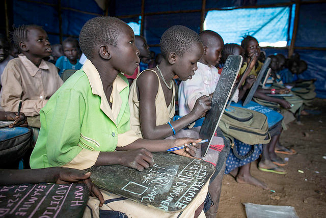refugee children education