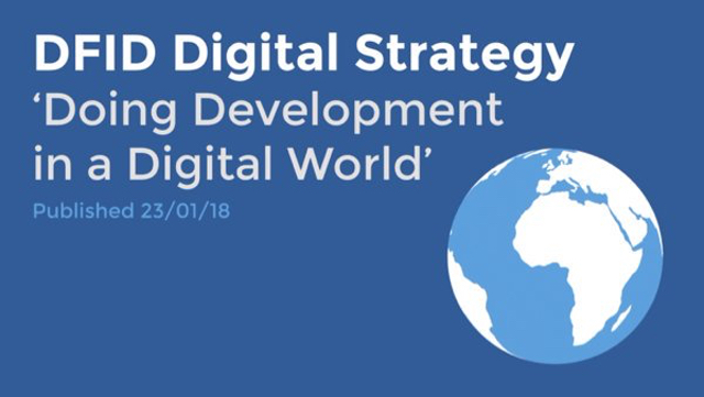 dfid digital strategy