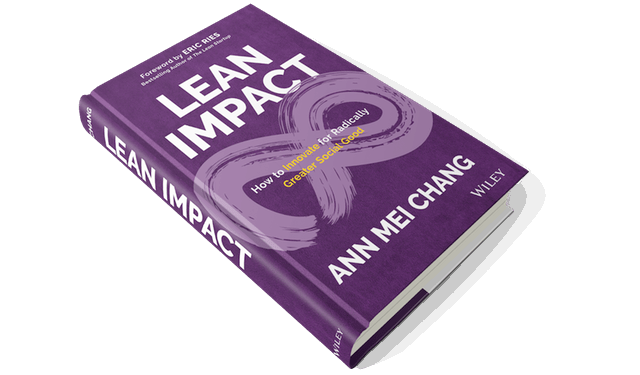 lean impact in international development