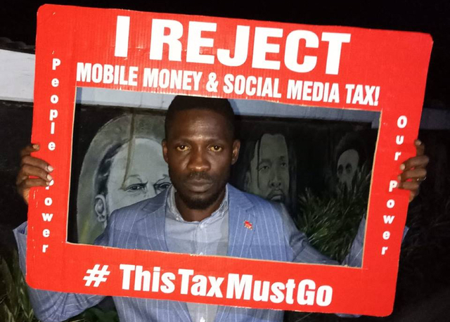 social media tax uganda