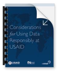 Responsible Data Guide