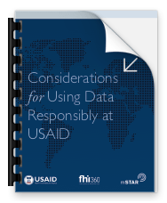 Responsible Data Guide