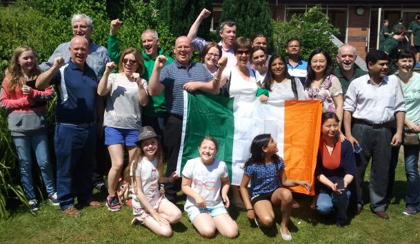 Glorney 2016 - Irish Supporters