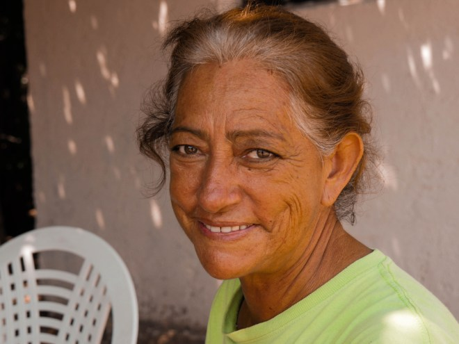 Maria, another woman I was fortunate to interview, in Agua Verde.