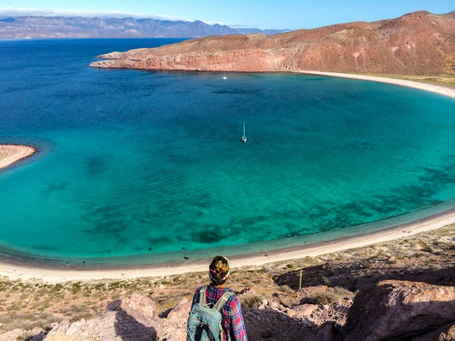 Isla San Francisco, in the heart of the Sea of Cortez and squarely in the path of Hurricane Odile.
