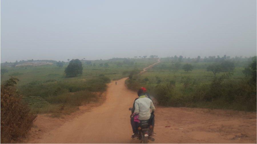 A scene in Africa – O. Edeh