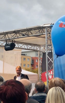 AfD lays claim to East German identity