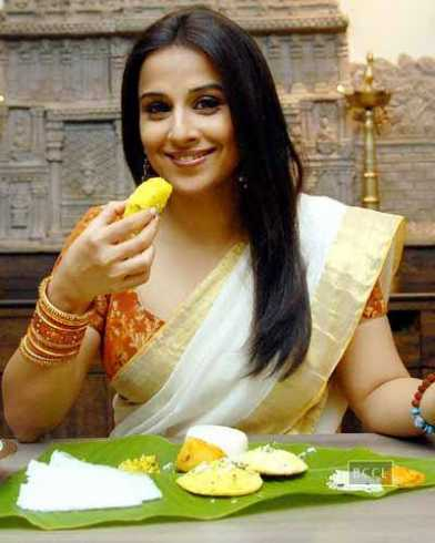 Image result for vidya balan eating
