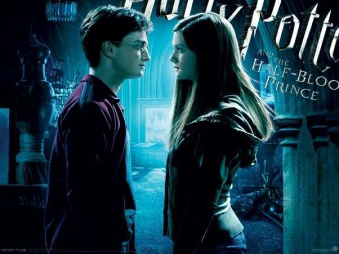 Image result for harry and ginny half blood prince