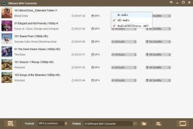 Enjoy iTunes Content with DRM M4V Converter for Windows 2