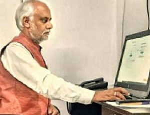 Vice-chancellor of R.G.V.P College Prepares for Online Exams 2