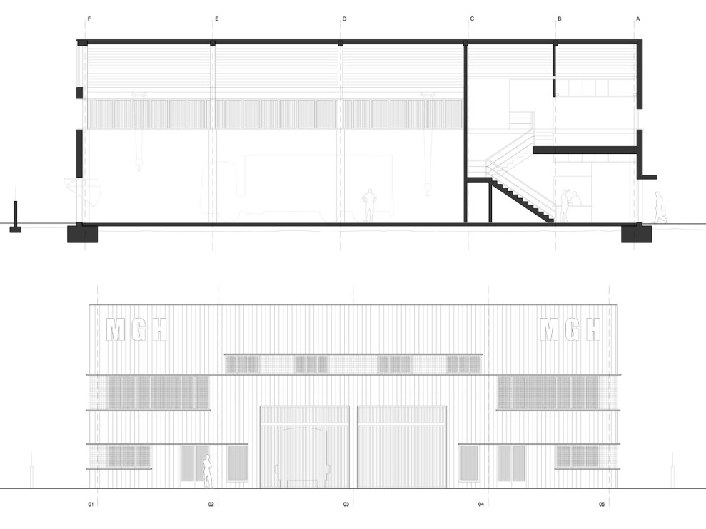 I&D arquitectos - Nave industrial CDP 20