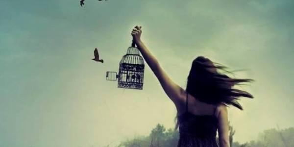 einfach mal loslassen und frei sein
