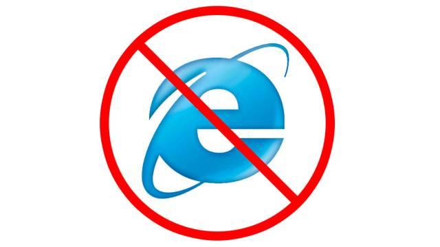 Använd EJ Internet Explorer