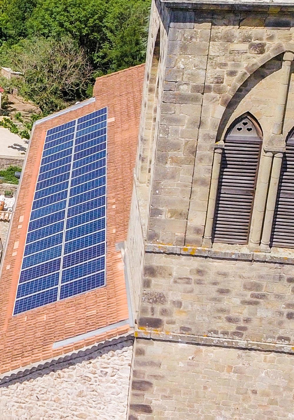 Photovoltaïque pour Collectivités locales Eglise