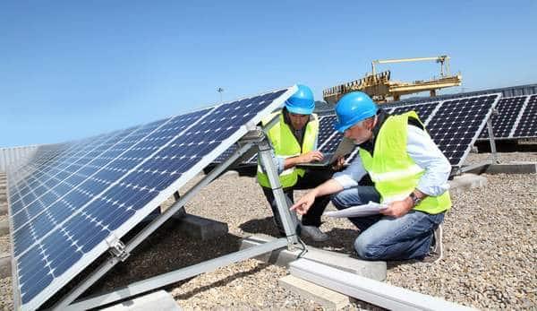 Connexion au solar Inverter