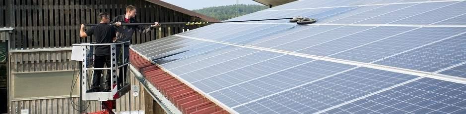Nettoyage de panneaux Solaires & photovoltaïques