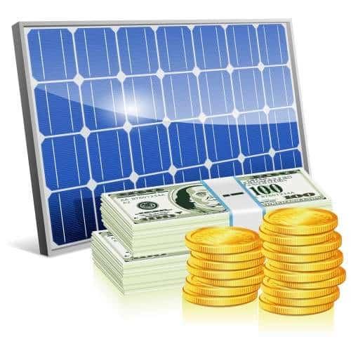 Couts d'un système de panneaux solaires