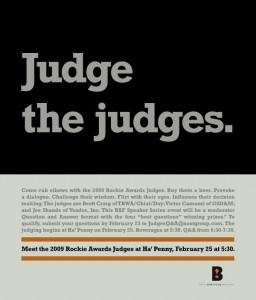 Judge the Judges - BAF Event