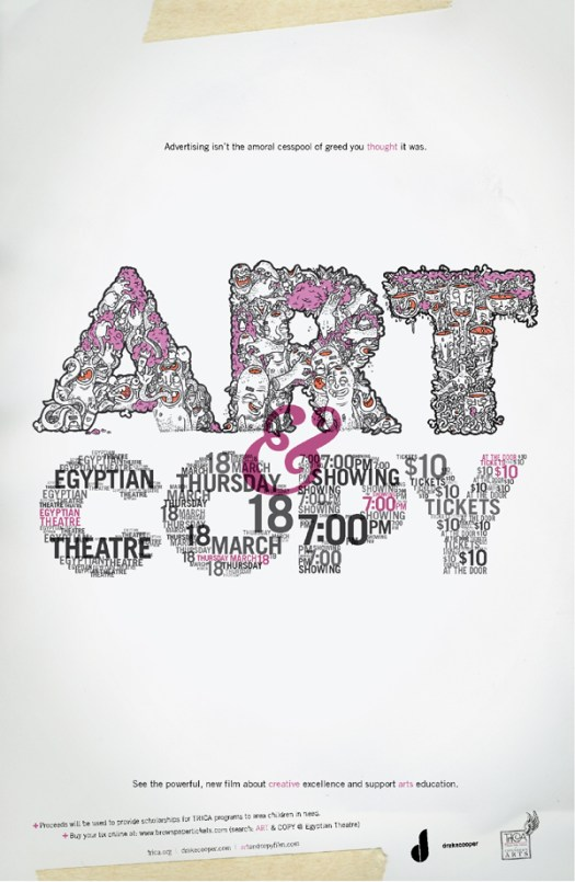 ART & COPY Poster