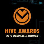 Hive Awards - 2010 Honorable Mention