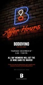 BAFter Hours - December 2013