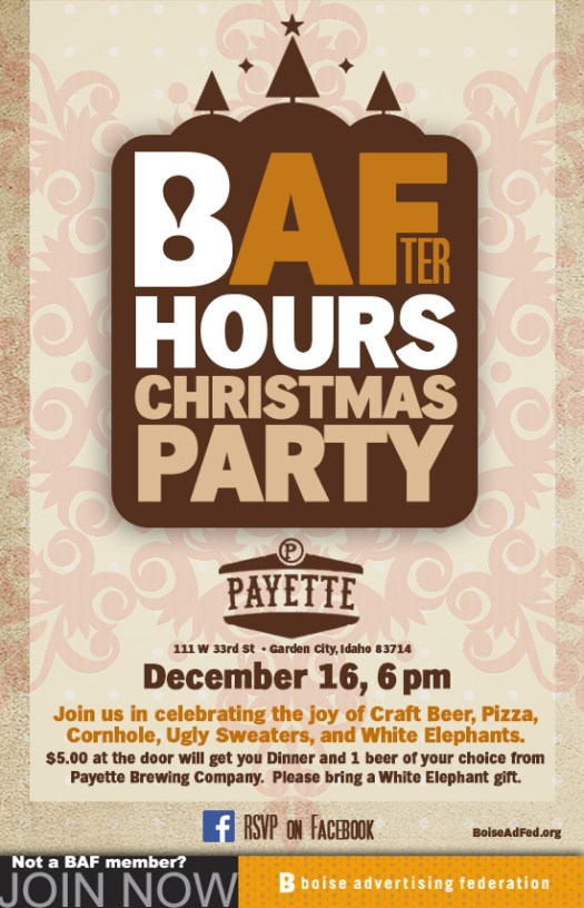 BAFter Hours Christmas Party