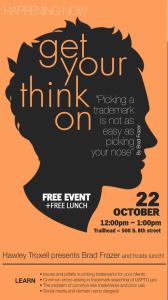 BAF event: Get your think on - October 2015