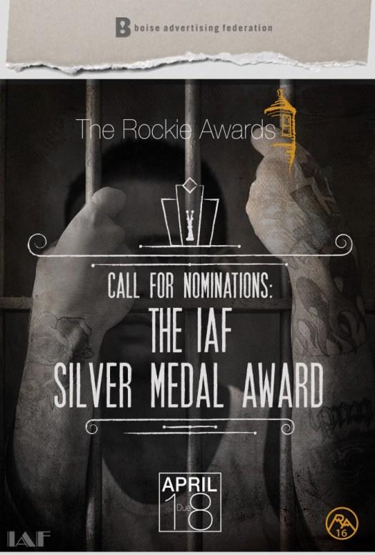 2016 IAF Silver Medal Award