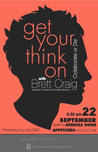 Get your think on with Brett Craig