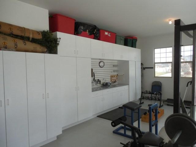 Garage = Gym + Storage