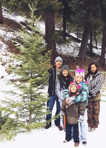 Picking our Christmas Tree!