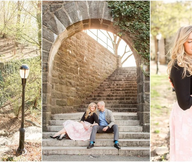 Nyc Engagement Photographers Fort Tryon Park Engagement