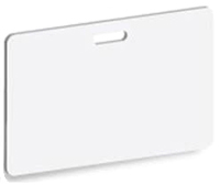 Horizontal Pre-Punched PVC Card Image GradeBox of 500