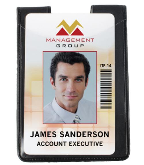 Vertical Magnetic Badge Holder
