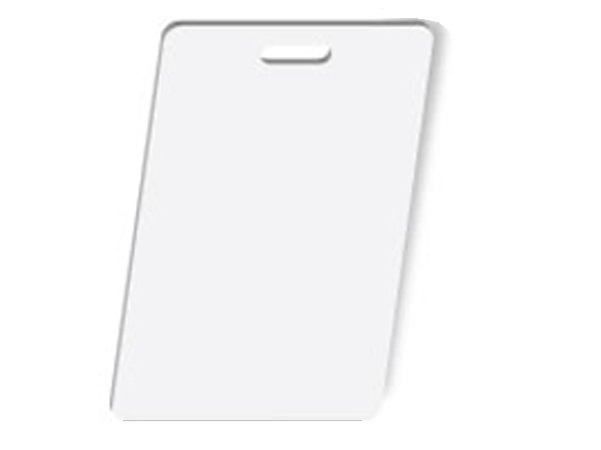 Vertical Pre-Punched PVC Card Image GradeBox of 500