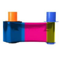 Fargo DTC5500LMX YMCKO Full Color Ribbon w/ Overlay