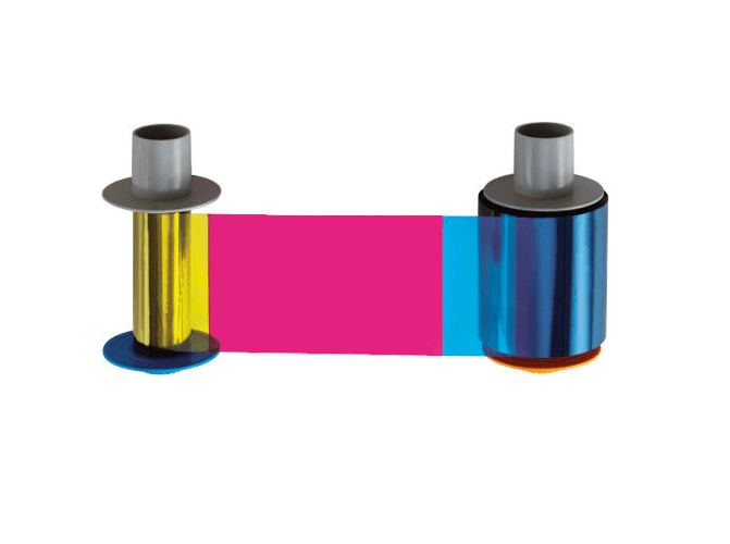 Fargo HDP5000 Models YMCKH Full Color Ribbon