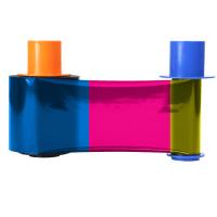 Fargo DTC5500LMX YMCKK Full Color with 2 Resin Black Panel Ribbon