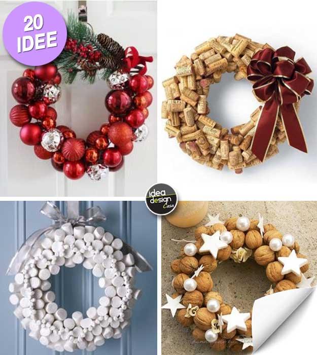 Ghirlande Di Natale Fai Da Te 20 Idee Creative Tutorial