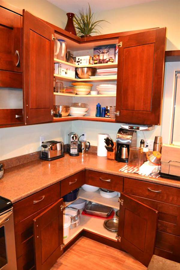 L Shaped Kitchen Dimensions