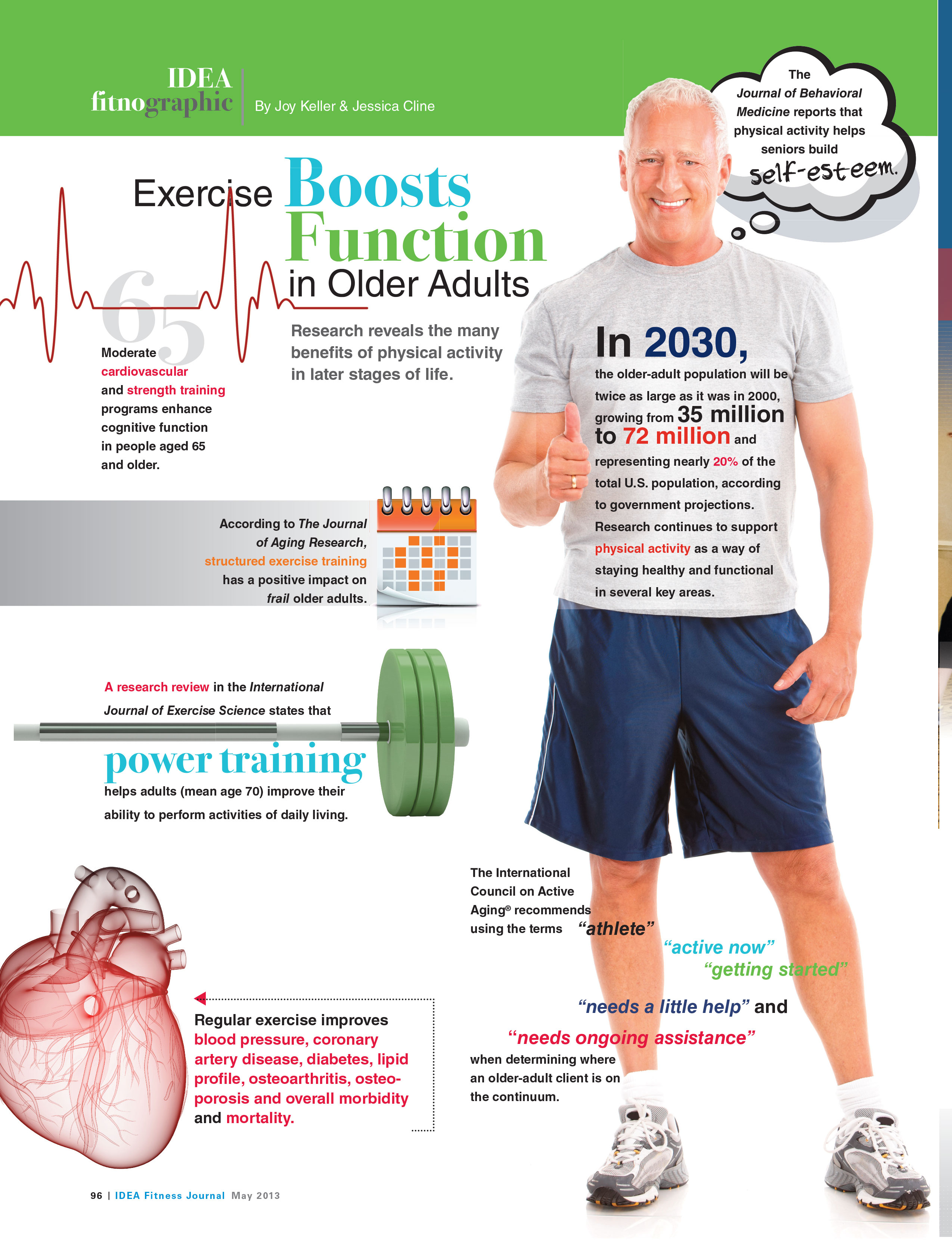 Exercise Boosts Function In Older Adults