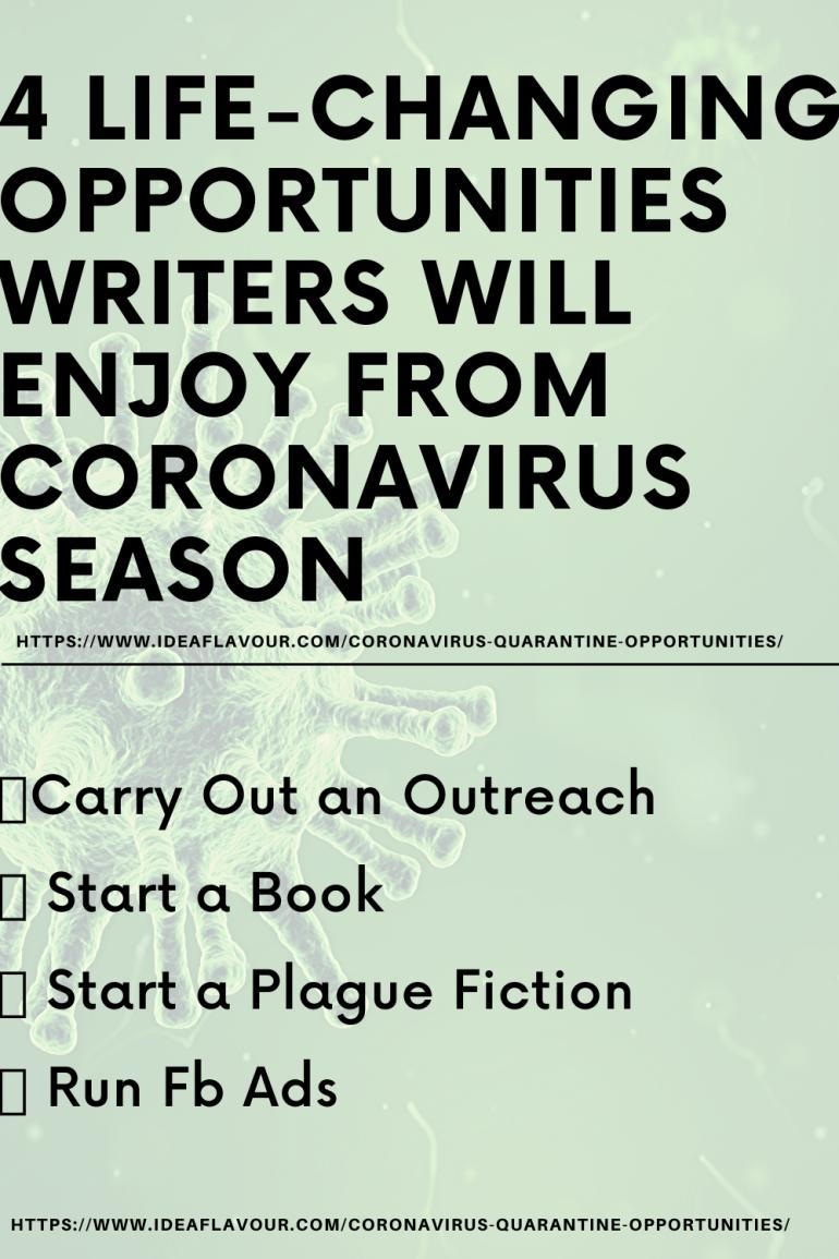 Coronavirus opportunities