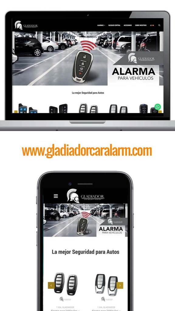Gladiador Car Alarm Latinoamerica