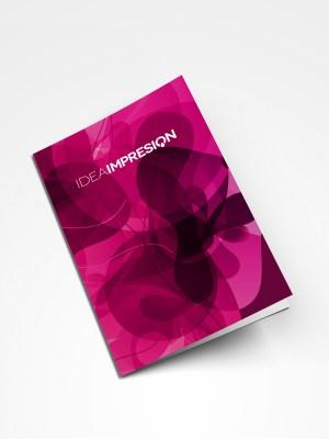 Dípticos DIN A4 · 500 unidades | Imprenta offset | Impresión offset
