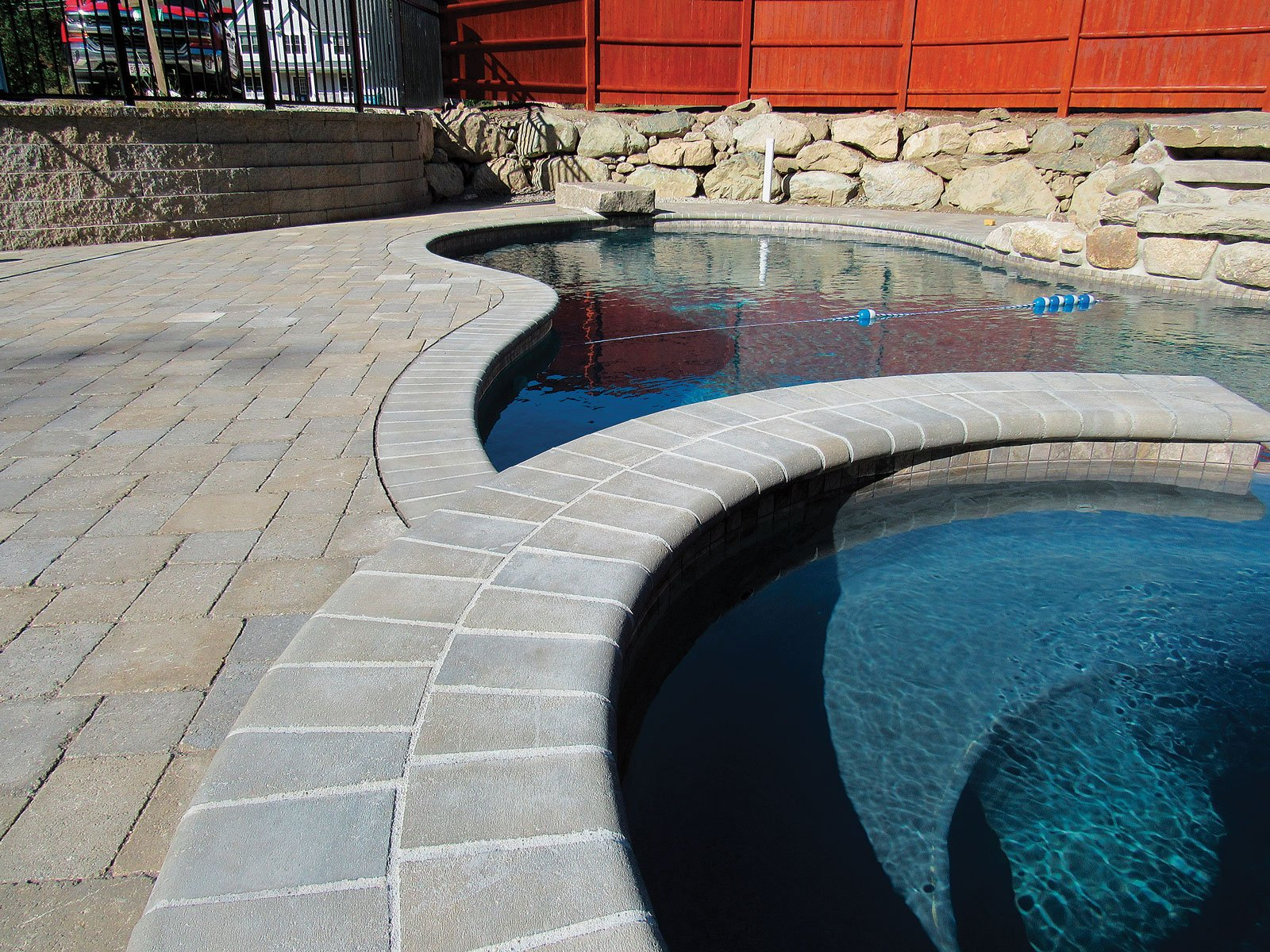 bullnose coping pavers by ideal