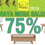raya furniture sale, raya mega sale, perabot raya sale, riang ria raya sales,